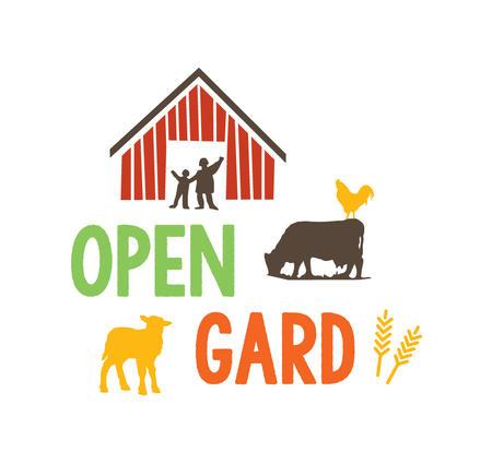 Velkomen til Open Gard i Eikefjord