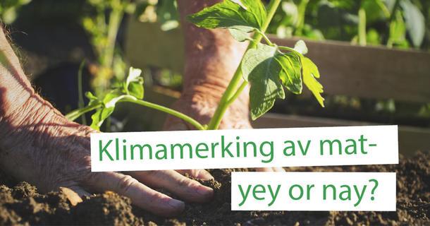 Landbrukspodden om klimamerking