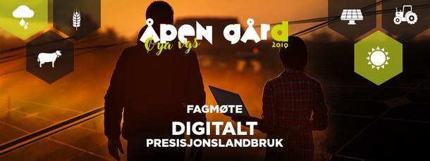 Plakat fagmøte digitalt presisjonslandbruk