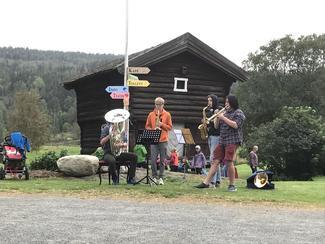 Underholdning fra musikklinja ved Kongsberg vgs.