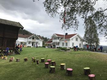 Nord Ulland gård og hinderløypa