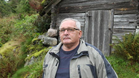 Stolt bonde i Fjærland