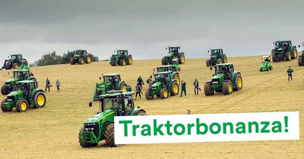 Traktor i Landbrukspodden