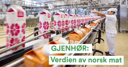 Landbrukspodden om verdien av norsk mat