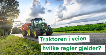 Landbrukspodden om veitrafikkreglene for traktoren