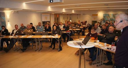 Ledermøte VB 2019 fikk hilse på landbruksdirektør Helge Nymoen