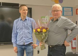 Øyvind Sandvik og Bjarte Naterstad