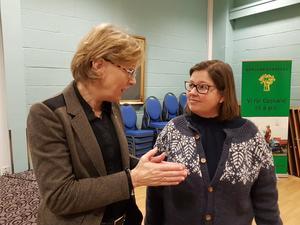 Sigrid Hjørnegård og Kristina Hegge