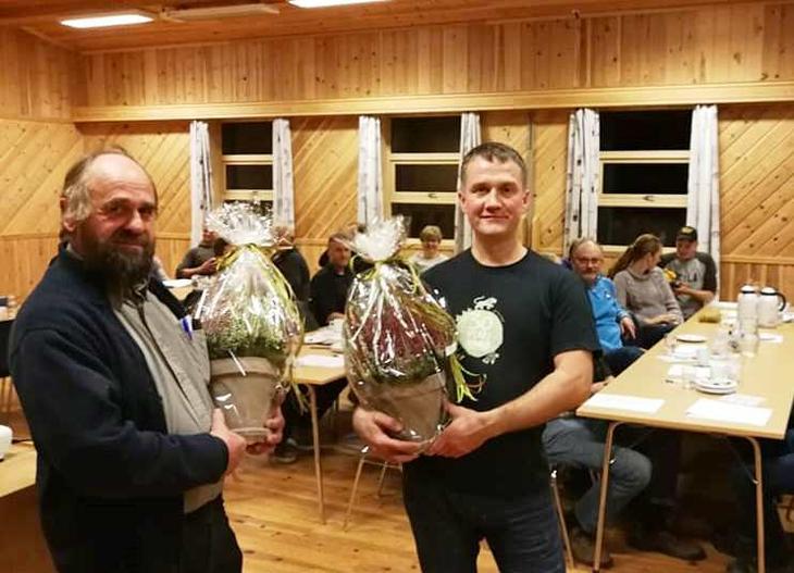 Oddbjørn Borge og Peder Nernæs