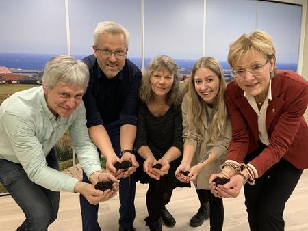 Fire promille initiativet f.v. Børre Solberg, Jan Thomas Odegard, Kjersti Hoff,Hege Skarrud, Sigrid Hjørnegård