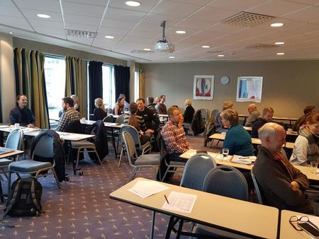 Fredag 24.januar var det ei vellukka oppstartsamling for mentorpar i Vestland.