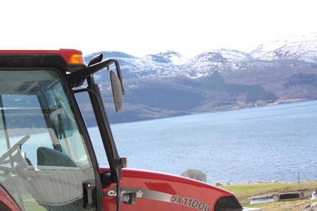 Illustrasjonsbilde: Traktor.
