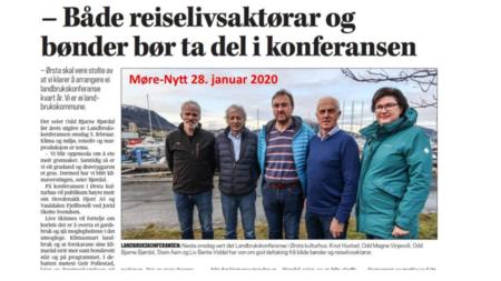 Landbrukskonferanse i Ørsta