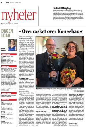 Avisa Driva 21. februar