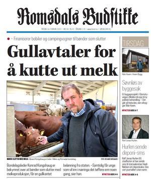 Romsdals Budstikke 18. februar