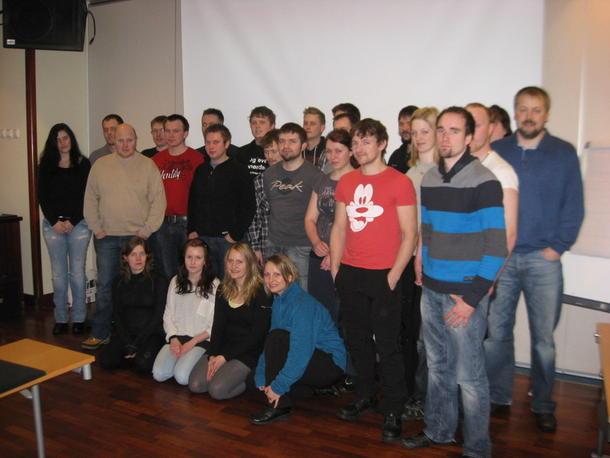 Foto fra Unge Bønder kurs i 2011
