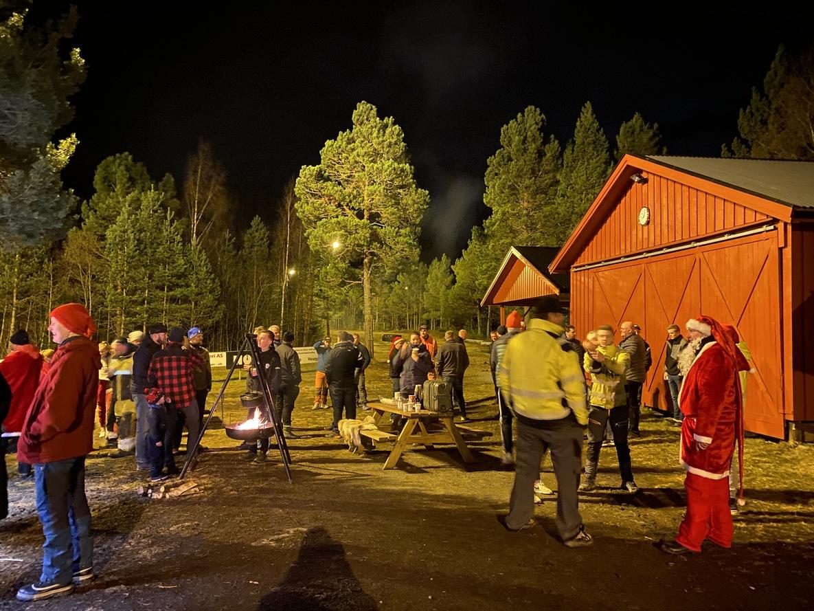 Varm og god stemning. Foto: Gunnar Alstad